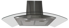 Cookerhoods cgh90gs 245x100